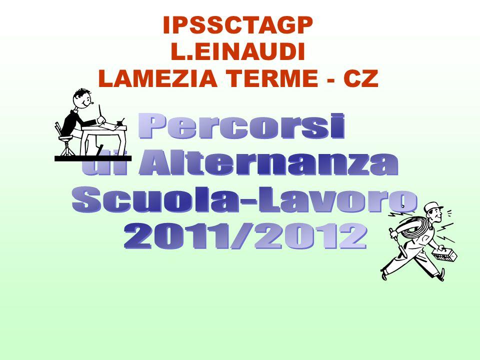 IPSSCTAGP L.EINAUDI LAMEZIA TERME - CZ