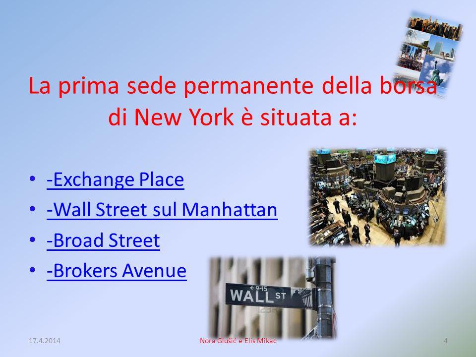 New York, prima di chiamarsi così si chiamava: -New London -New Amsterdam -New Manhattan -Old Yorkshire 17.4.20143Nora Glušić e Elis Mikac