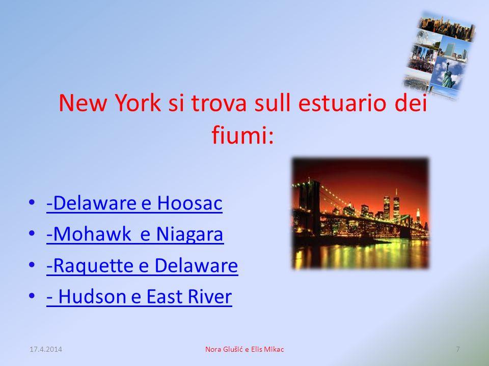 Qualè il segno protettivo (marchio) di New York? Wall Street Macys The Statue of Liberty Central Park 17.4.20146Nora Glušić e Elis Mikac