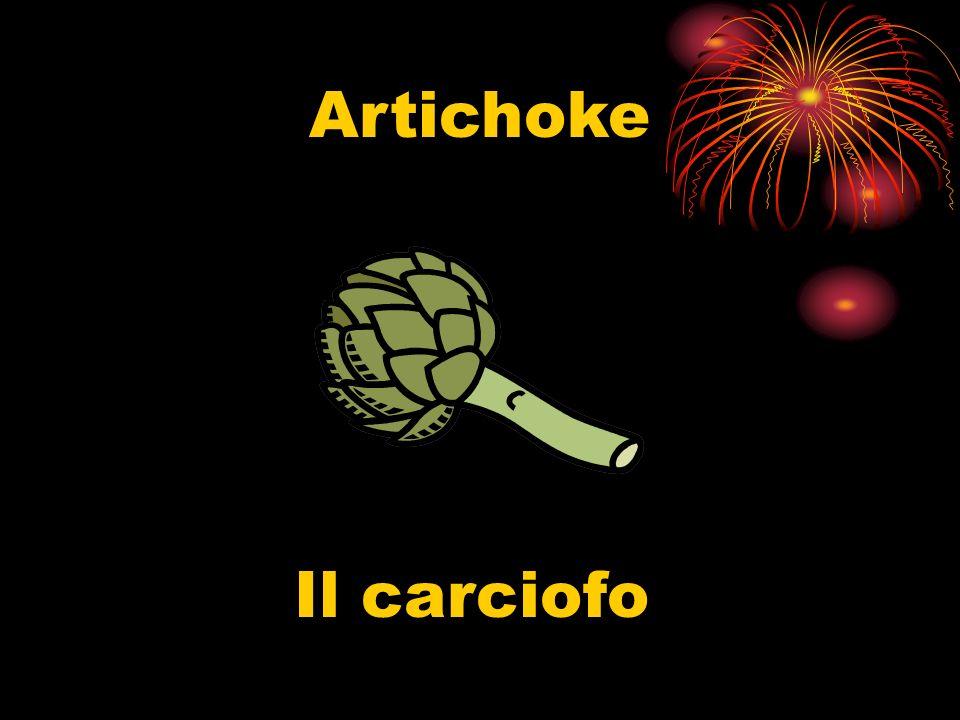 Artichoke Il carciofo