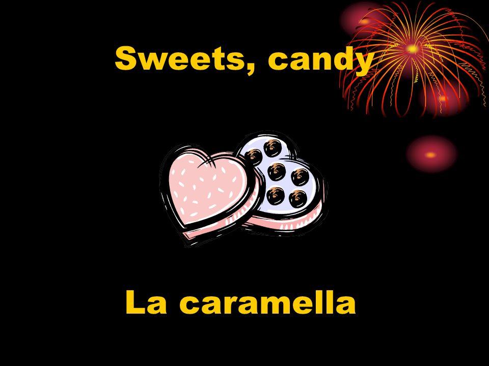 Sweets, candy La caramella