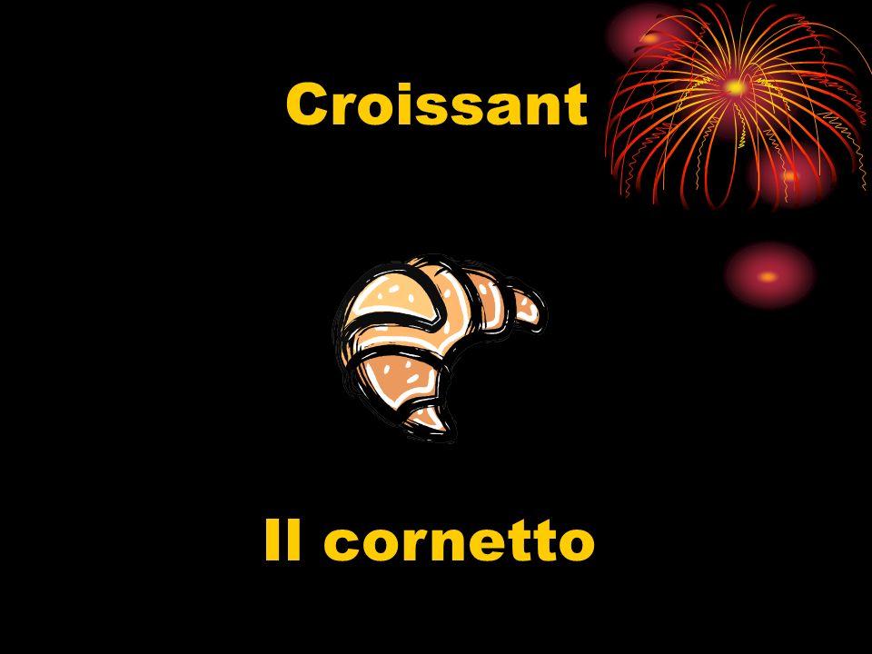 Croissant Il cornetto