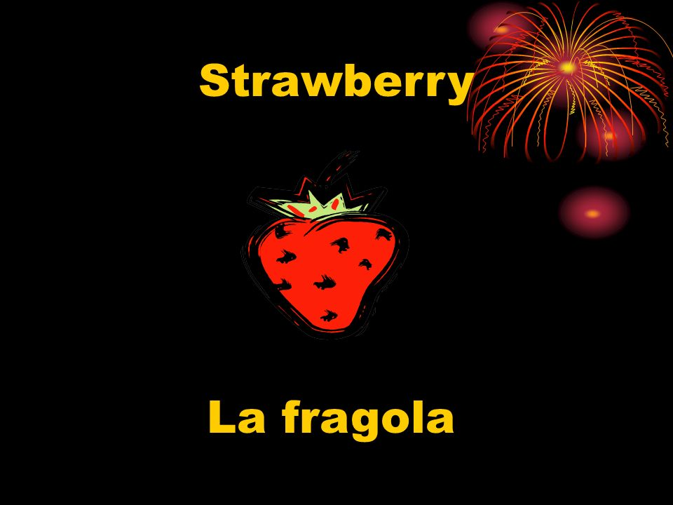 Strawberry La fragola
