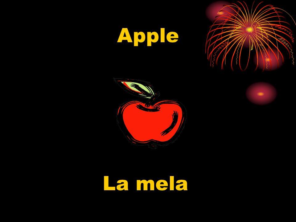 Apple La mela