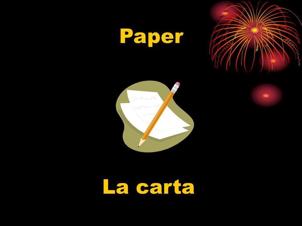 Paper La carta