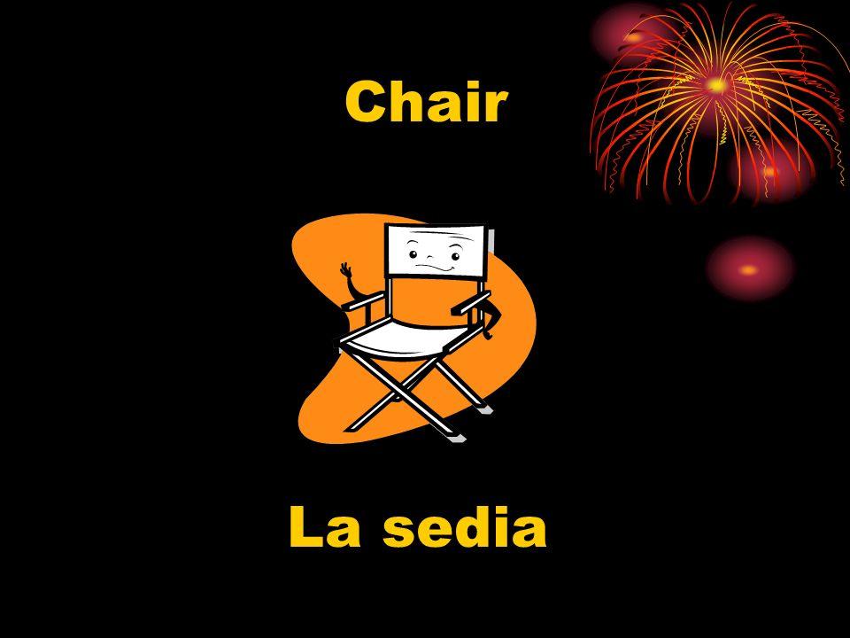 Chair La sedia