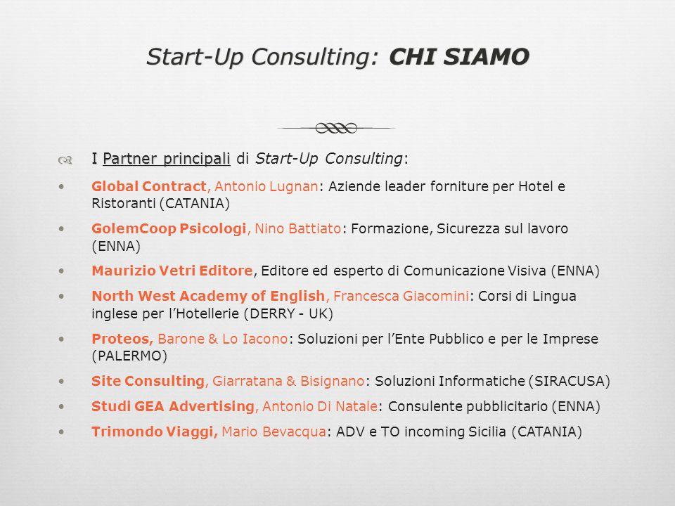 Perché scegliere Start-Up Consulting?Perché scegliere Start-Up Consulting.