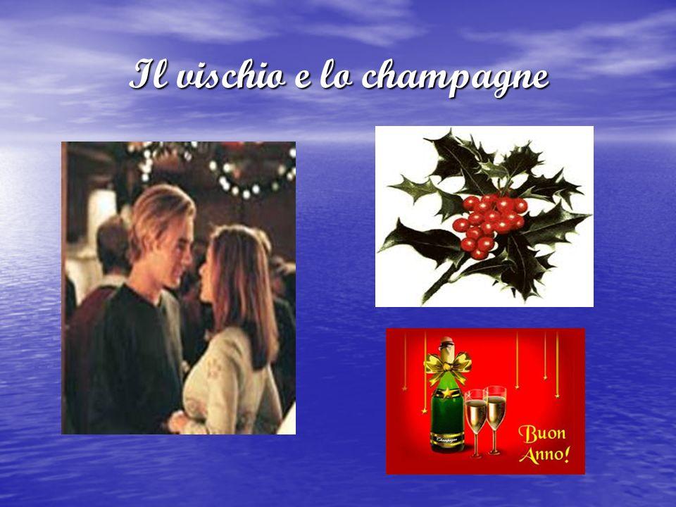 Il vischio e lo champagne