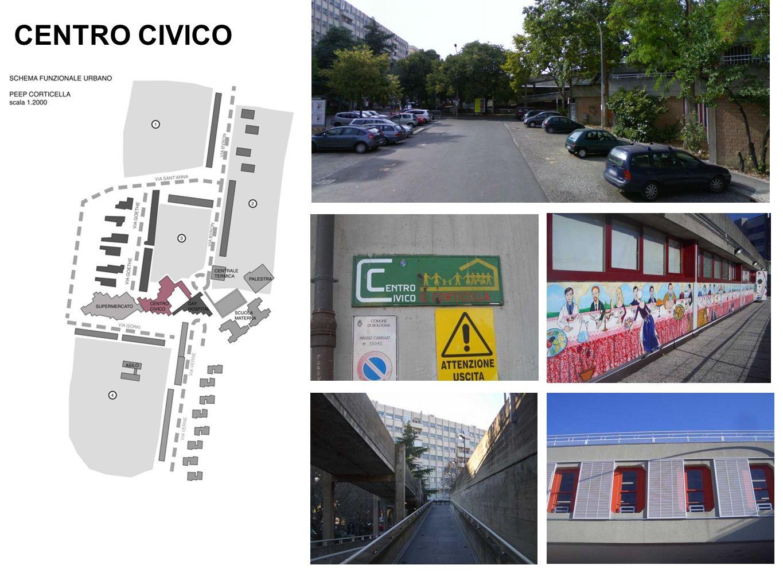 CENTRO CIVICO E inaugurato il Centro civico del quartiere Corticella.
