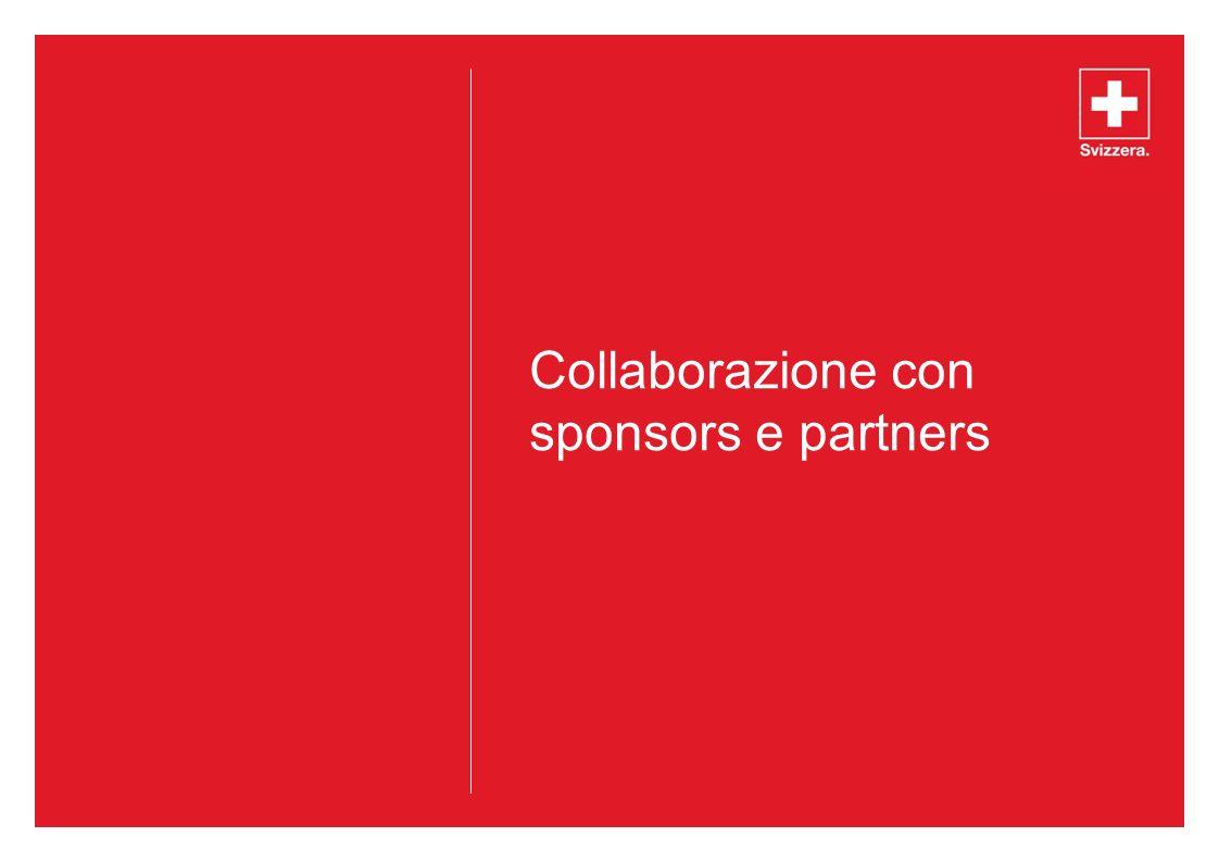 Collaborazione con sponsors e partners