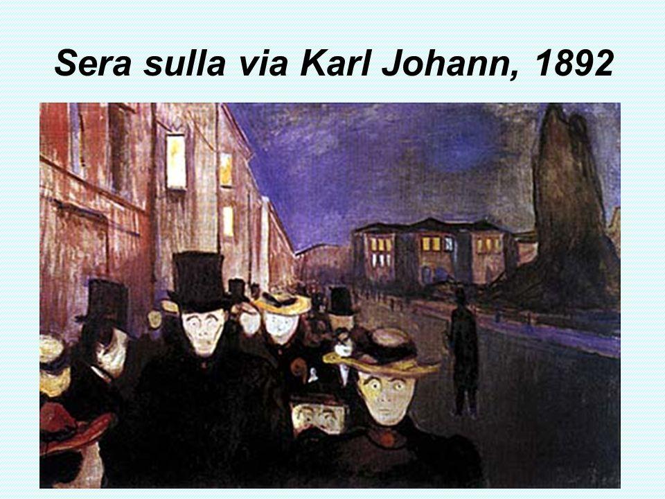 Sera sulla via Karl Johann, 1892