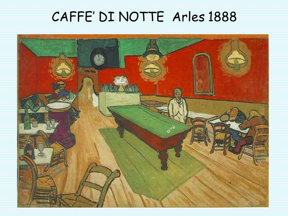 CAFFE DI NOTTE Arles 1888