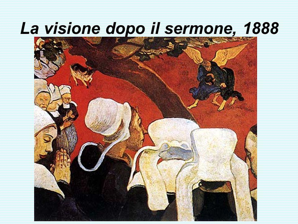 La visione dopo il sermone, 1888