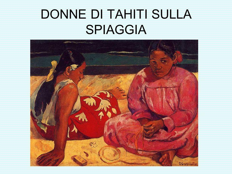 DONNE DI TAHITI SULLA SPIAGGIA