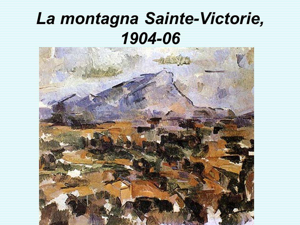 La montagna Sainte-Victorie, 1904-06