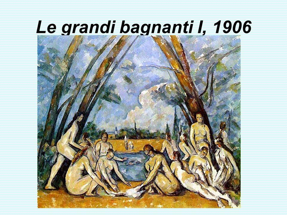 Le grandi bagnanti I, 1906