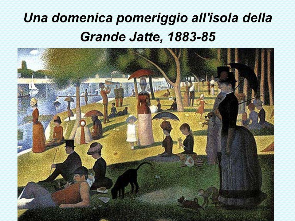 Una domenica pomeriggio all'isola della Grande Jatte, 1883-85