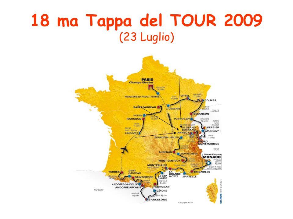 18 ma Tappa del TOUR 2009 (23 Luglio)