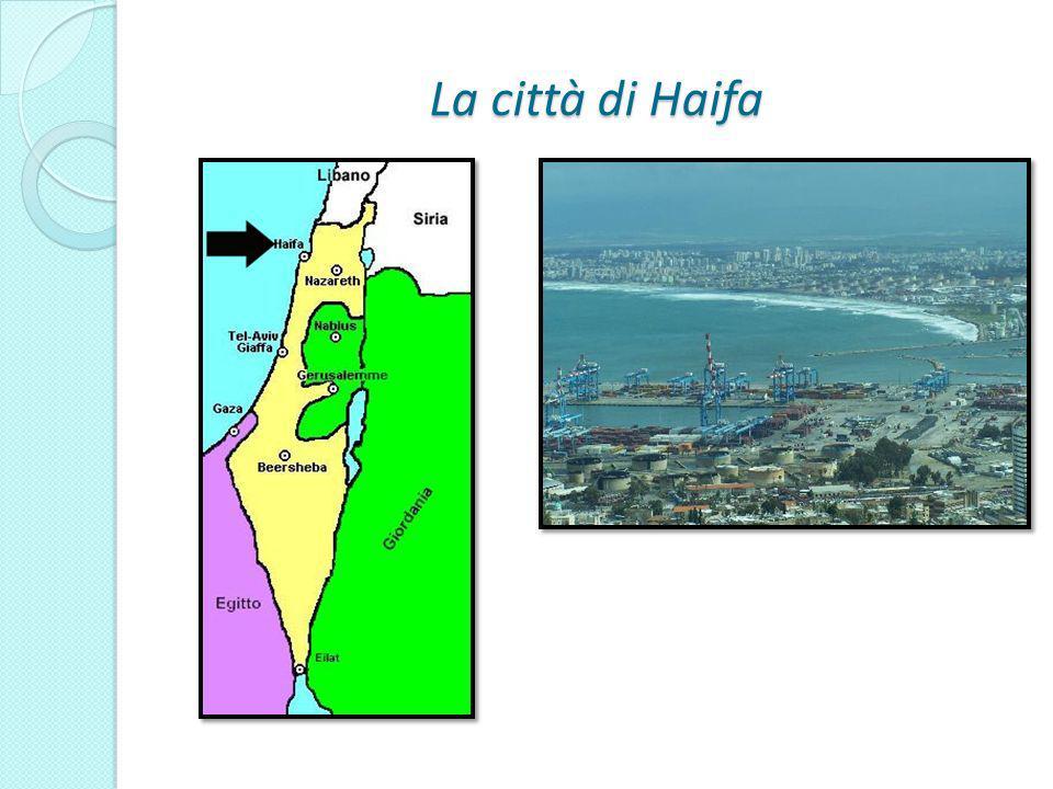 La città di Haifa
