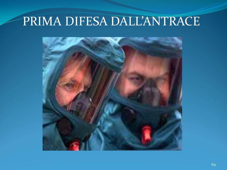 69 PRIMA DIFESA DALLANTRACE