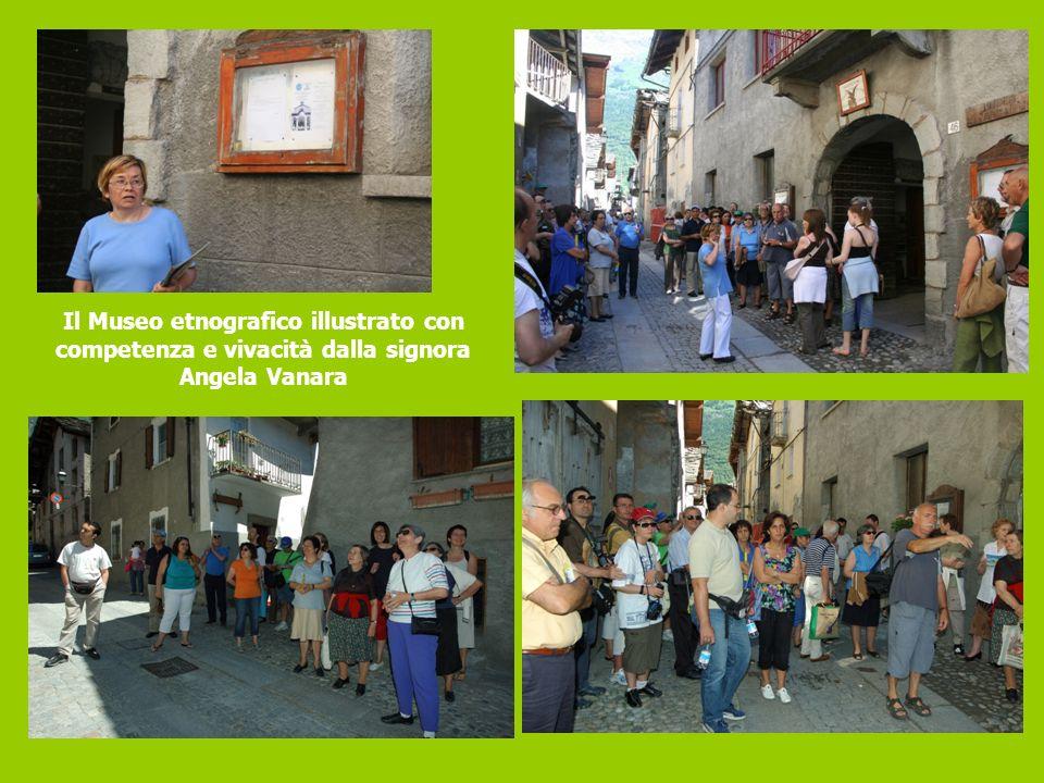Il Museo etnografico illustrato con competenza e vivacità dalla signora Angela Vanara