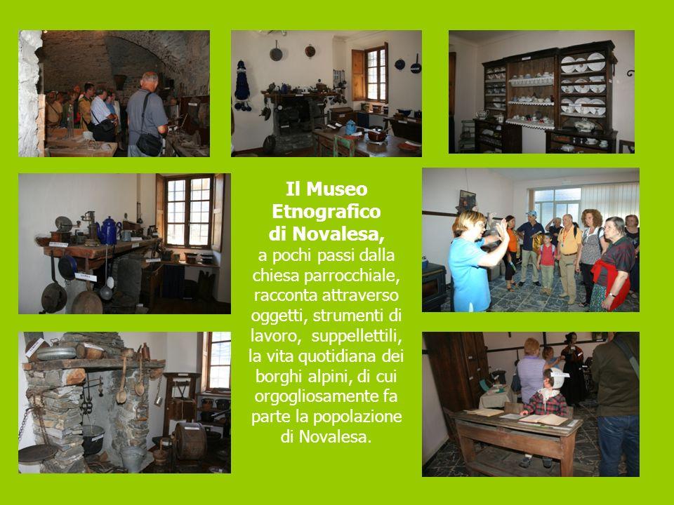 Il Museo Etnografico di Novalesa, a pochi passi dalla chiesa parrocchiale, racconta attraverso oggetti, strumenti di lavoro, suppellettili, la vita qu
