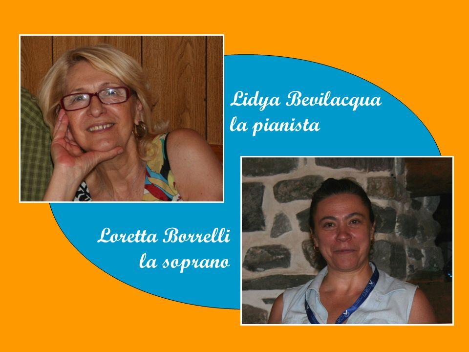 Lidya Bevilacqua la pianista Loretta Borrelli la soprano