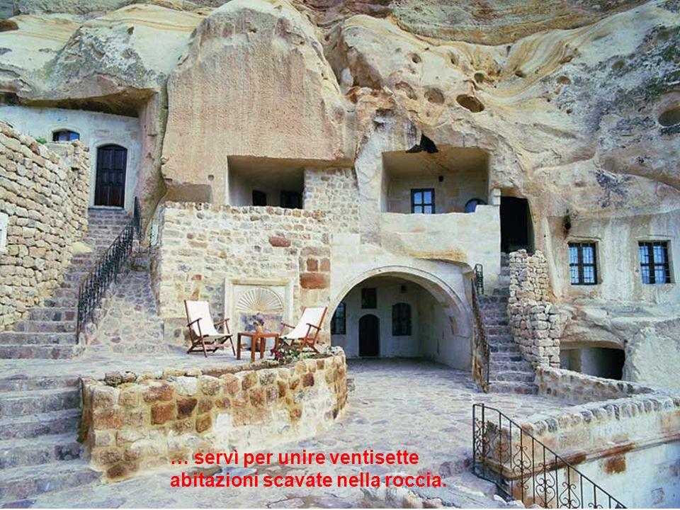 Più di mile anni dopo, questo labirinto di caverne…