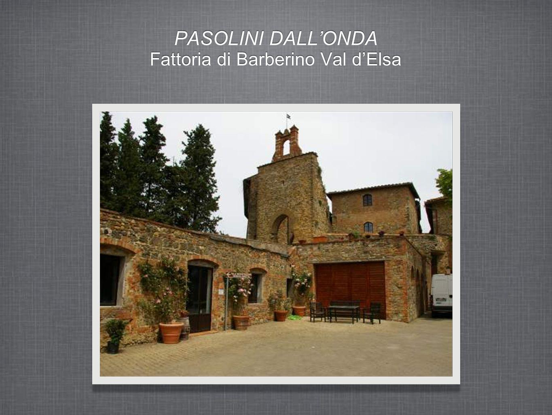 PASOLINI DALLONDA Fattoria di Barberino Val dElsa