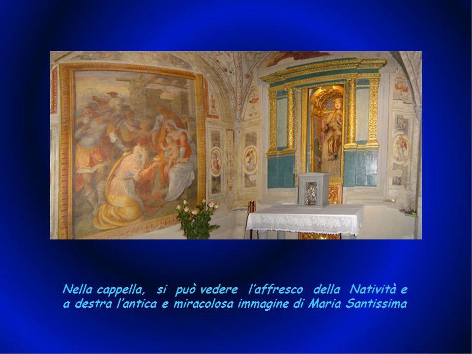 Neppure la cappella della Madonna è stata risparmiata dalle impalcature