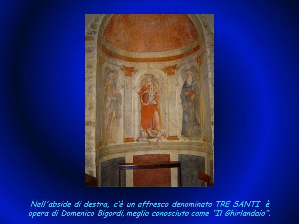 Nella cappella, si può vedere laffresco della Natività e a destra lantica e miracolosa immagine di Maria Santissima