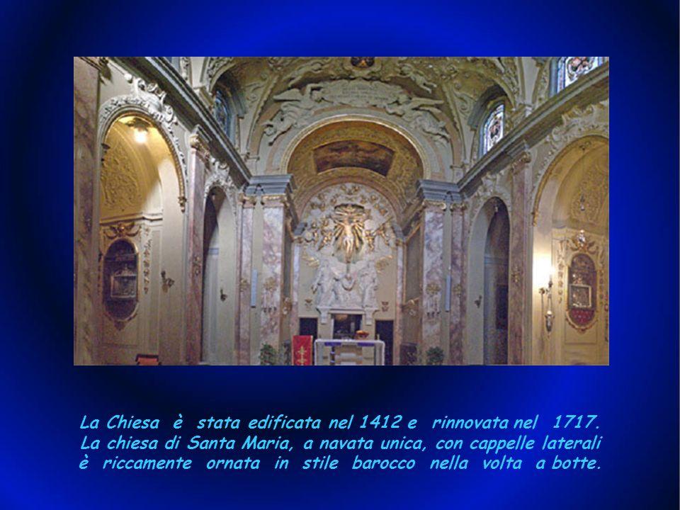 IL SANTUARIO IL SANTUARIO: Monte Senario, culla dellOrdine dei Servi di Maria, si trova su una collina di 817 metri, posta a 18 Km da Firenze. Inserit