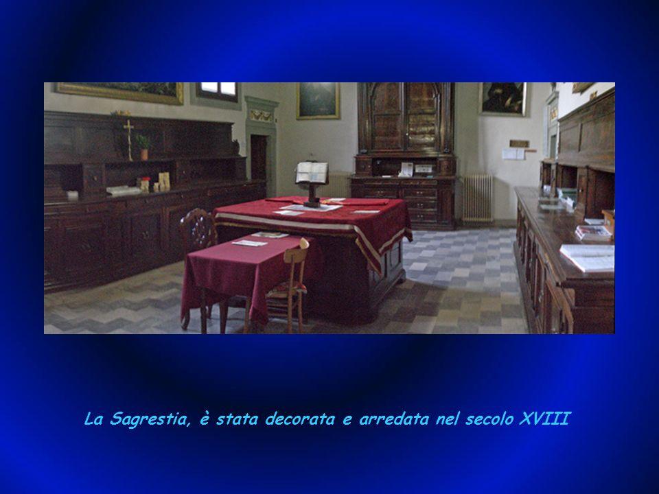 La più importante delle cappelle laterali è la Cappella dei sette santi.