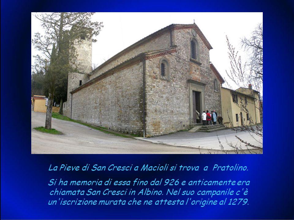 La nostra gita è iniziata da Pratolino con la visita alla Pieve di Pieve di San Cresci a Macioli.