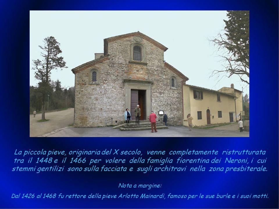 La Pieve di San Cresci a Macioli si trova a Pratolino. Si ha memoria di essa fino dal 926 e anticamente era chiamata San Cresci in Albino. Nel suo cam