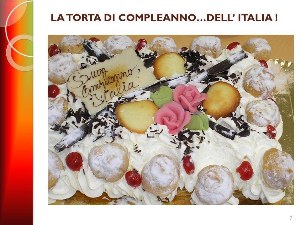 LA TORTA DI COMPLEANNO…DELL ITALIA ! 7