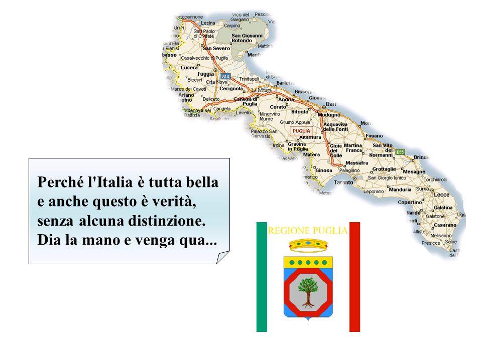 È di Napoli, pugliese, forse sardo o calabrese, lucano, siciliano. Cosa importa, è italiano! E se è italiano basta già!