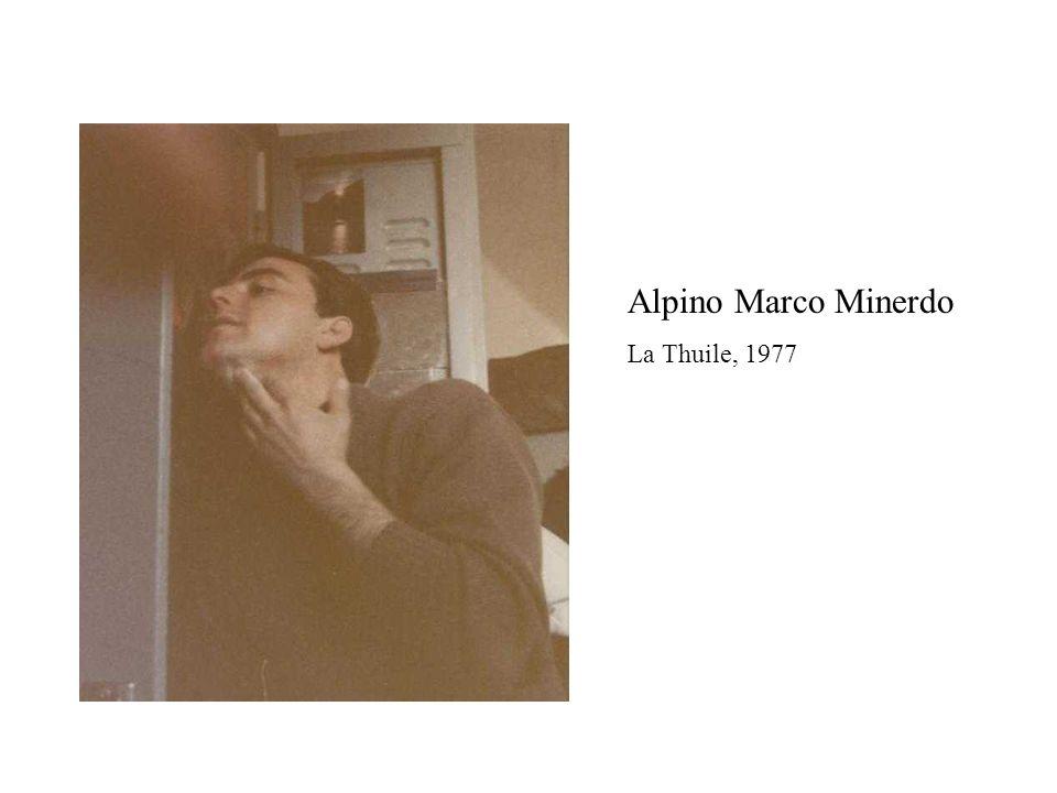 Alpino Marco Minerdo La Thuile, 1977
