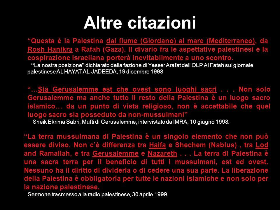 Il metodo dellOLP- La grande bugia Questa illustrazione mostra il metodo propagandistico usato in continuazione da Arafat – più grande è la bugia e pi