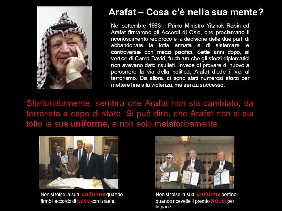 Contastorie Fin dallinizio, Arafat ha raccontato esagerazioni e leggende a proposito della sua vita, sostenendo, ad esempio, di essere nato a Gerusale