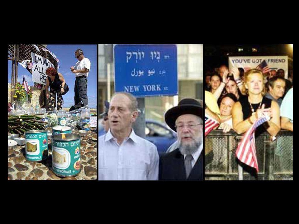 Il mondo è sotto shock Ma in mezzo all shock, sorge listinto umano di far qualcosa. In israele, nelle ore dellattacco, i cittadini spontaneamente si m