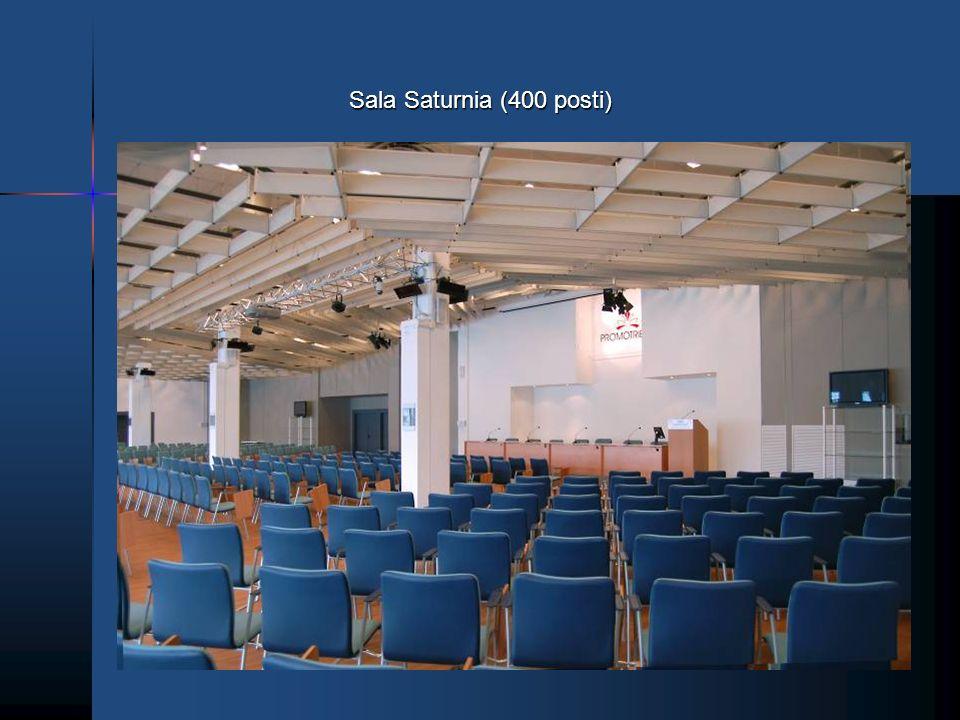 Sala Saturnia (400 posti)