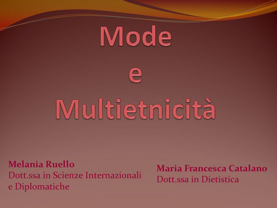 Maria Francesca Catalano Dott.ssa in Dietistica Melania Ruello Dott.ssa in Scienze Internazionali e Diplomatiche