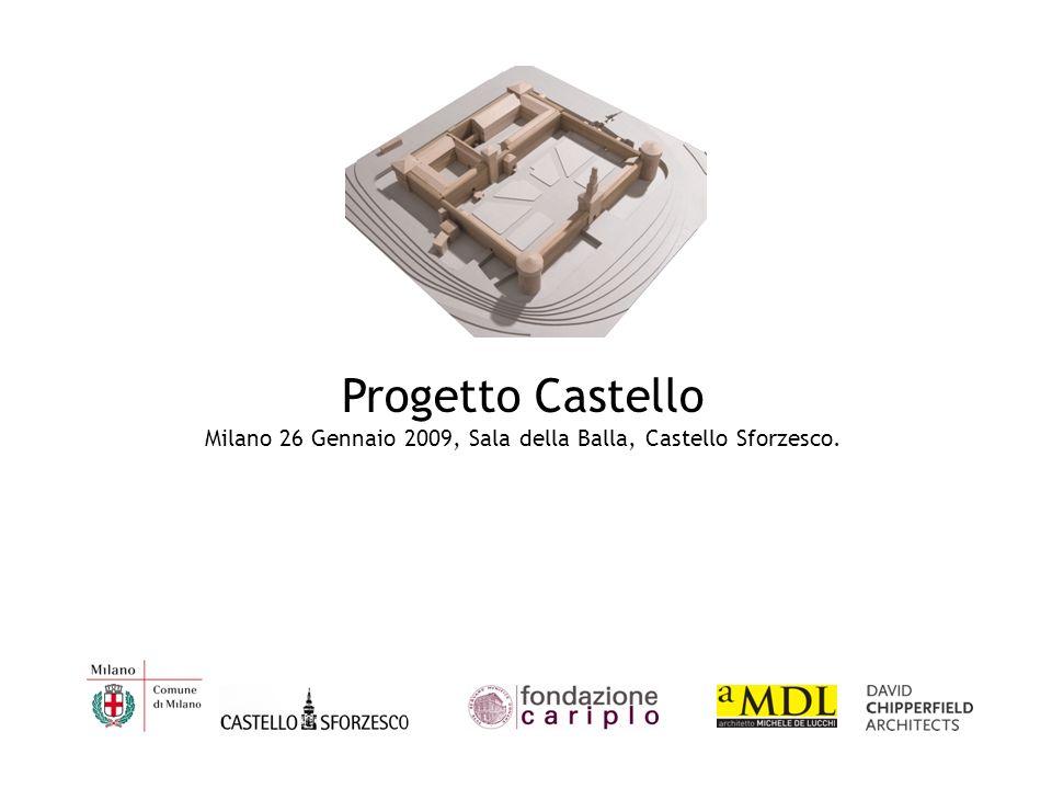 Progetto Castello Milano 26 Gennaio 2009, Sala della Balla, Castello Sforzesco.