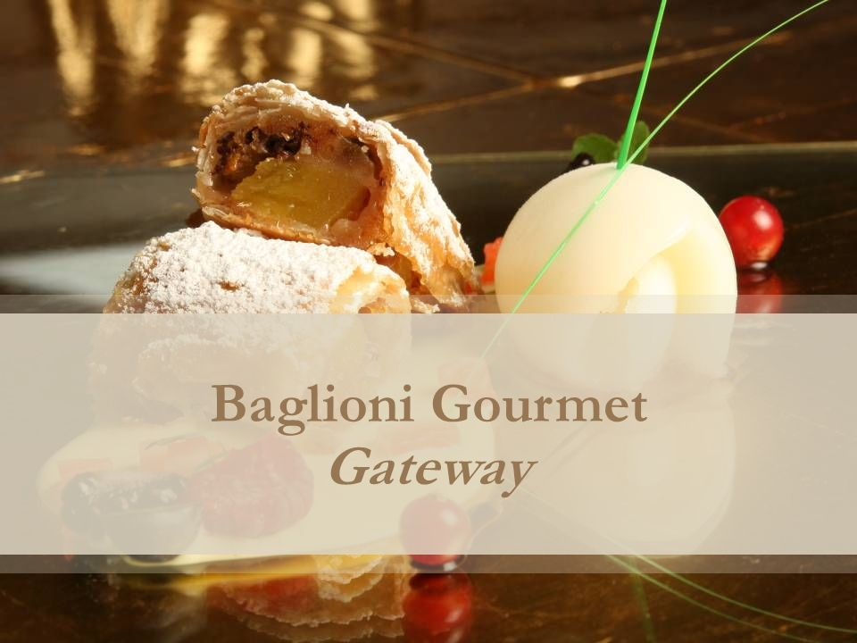 Baglioni Gourmet Gateway