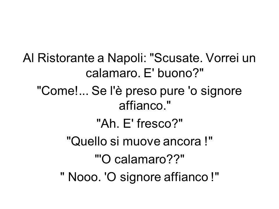 Al Ristorante a Napoli:
