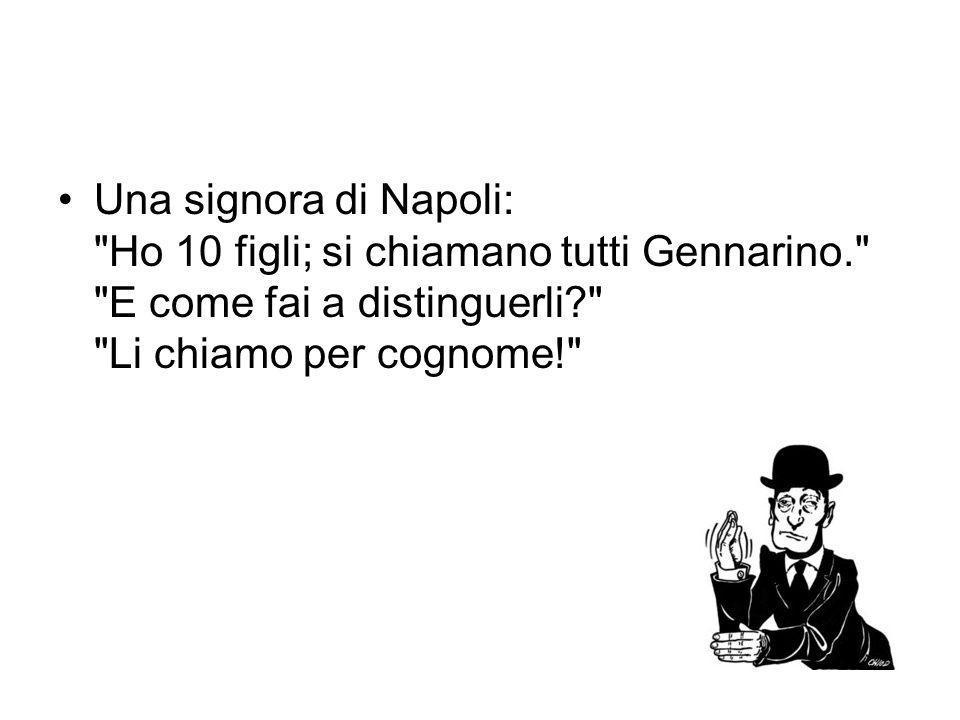 Una signora di Napoli: