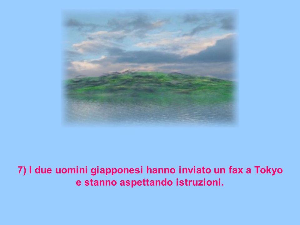6) I due uomini bulgari hanno guardato bene la donna bulgara ed hanno velocemente raggiunto a nuoto un'altra isola.