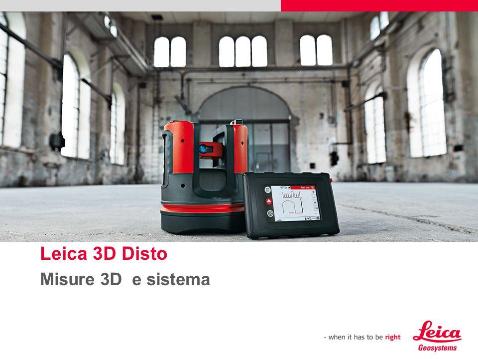 12 Leica 3D Disto – Applicativi di Misura Dimensioni, Aree, Volumi, Inclinazioni, Angoli Orizzontali e Verticali draft