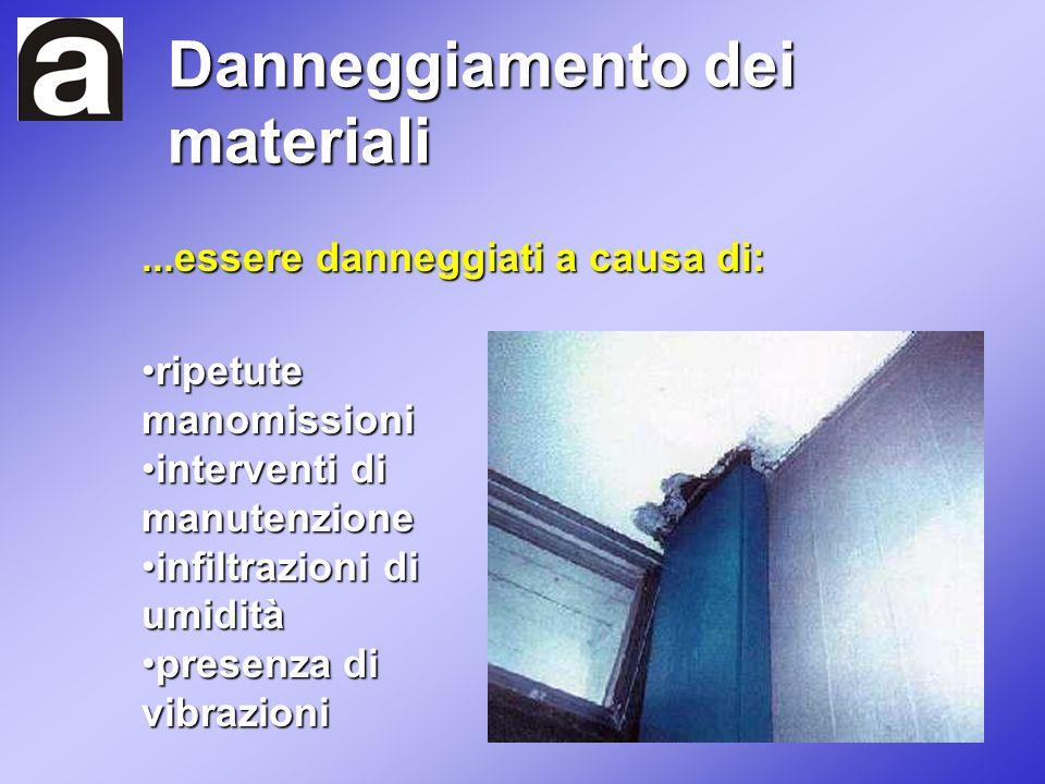 ...essere danneggiati a causa di: ripetute manomissioniripetute manomissioni interventi di manutenzioneinterventi di manutenzione infiltrazioni di umi
